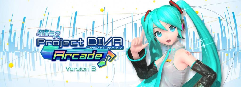 「初音ミク Project DIVA Arcade Version B」が稼動開始しました。